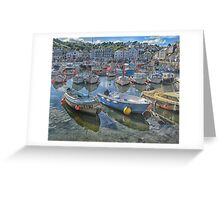 Boats and floats Greeting Card