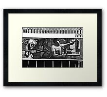 Mosaic in Campeche Framed Print