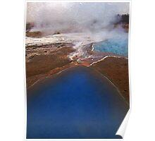 Geysir pools, Iceland Poster