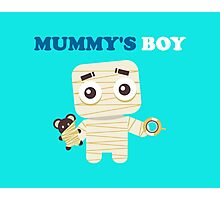 MUMMY´S BOY Photographic Print