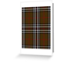 00328 Southdown Tartan  Greeting Card