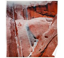 The Power Of  Storms On Uluru Poster