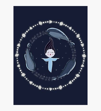 Song of the Sea - Selkie and seals Photographic Print