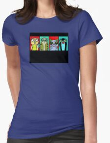 The Glasses Gang Womens Fitted T-Shirt