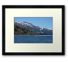 Bergy Bit Framed Print