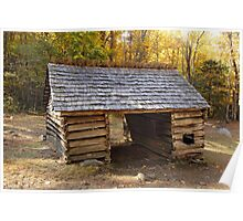 Jim Bales Corn Crib Poster