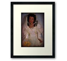 Porcelain Bride Framed Print