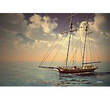 Voyage of the Cutter Photographic Print