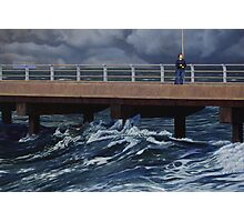 Fear of the Sea III, Oil on Linen, 91x137cm. Photographic Print