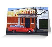 Thonet, Oil on Linen, 71x102cm. Greeting Card