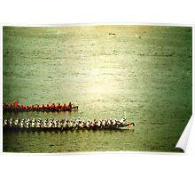 row, phnom penh, cambodia Poster