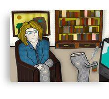 the dead leg Canvas Print