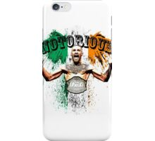 Conor McGregor Notorious UFC iPhone Case/Skin