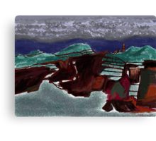 """Rusty Farm""  Canvas Print"