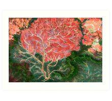 """Summer Trees""  Art Print"