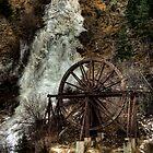 Idaho Springs Falls by Kasey Cline