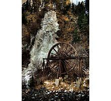 Idaho Springs Falls Photographic Print