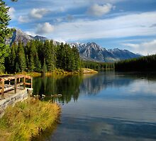 Johnson Lake - Banff National Park by JamesA1
