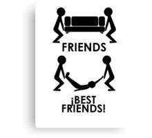 Friends - Best Friends Canvas Print