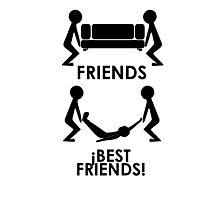 Friends - Best Friends Photographic Print