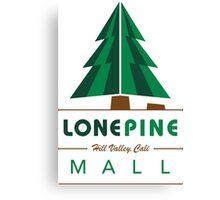 Lone Pine Mall Canvas Print