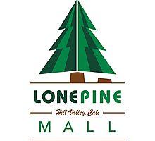 Lone Pine Mall Photographic Print