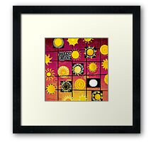 """""""Running in Square Circles"""" Framed Print"""