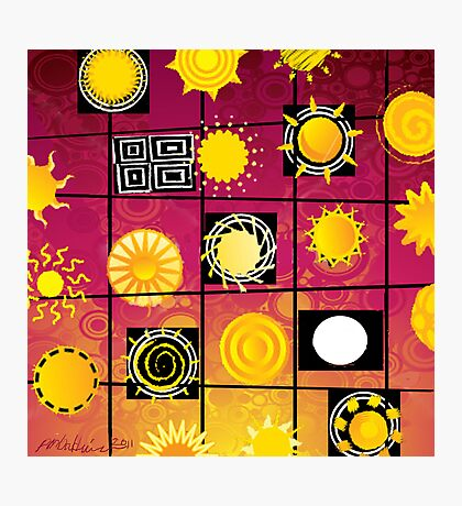 """""""Running in Square Circles"""" Photographic Print"""