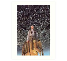 M Blackwell - The Rapture... Art Print