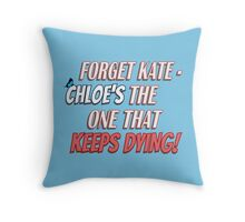 #ProtectChloePrice Throw Pillow