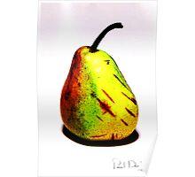 Au Pear Poster