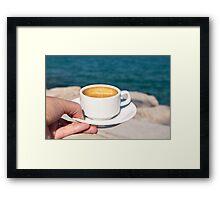 Coffee anyone? Framed Print