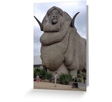 The Big Merino, Goulburn Greeting Card