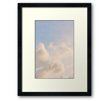 Brisbane Sky - Looking Up - January 14 2011 Framed Print