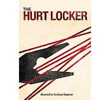"""The Hurt Locker""- minimalist movie poster Photographic Print"