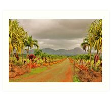 Hawaiian Plantation Art Print