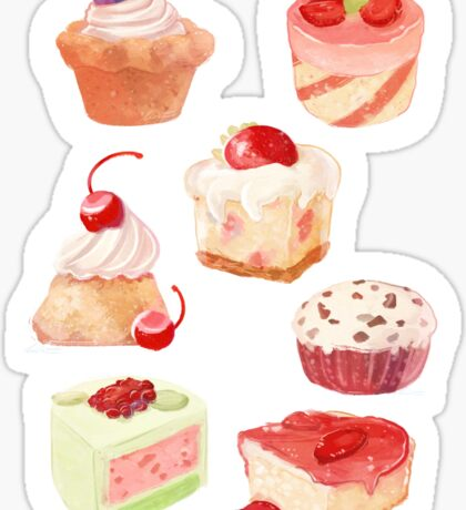 Sweets Sticker Multi Pack Sticker