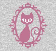 Pink Cat One Piece - Short Sleeve