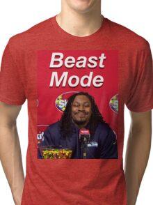 Marshawn Lynch Beast Mode (Skittles) Tri-blend T-Shirt