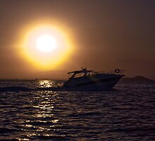 Mar Menor sunset by Alfonso Fernandez