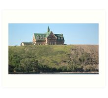 The Prince of Wales Hotel, Waterton, Montana. Art Print