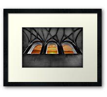 Golden Arches Framed Print