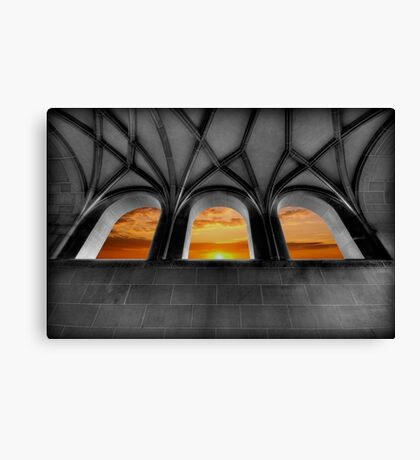 Golden Arches Canvas Print