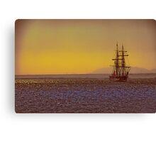 Egypt. Hurghada. Tall Ship at the Red Sea. Canvas Print