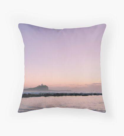 Nobbys Sunrise, Newcastle Australia Throw Pillow