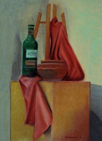 Still Life at Studio by Kostas Koutsoukanidis