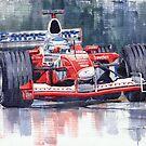 Panasonic Toyota TF102 F1 2002 Mika Salo by Yuriy Shevchuk
