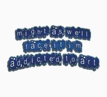 addicted II - sticker by vampvamp