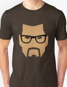 Half Life - Gordon Freeman Face (Minimalism) T-Shirt