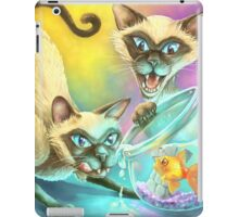 Si and Am - Siamese Buffet iPad Case/Skin